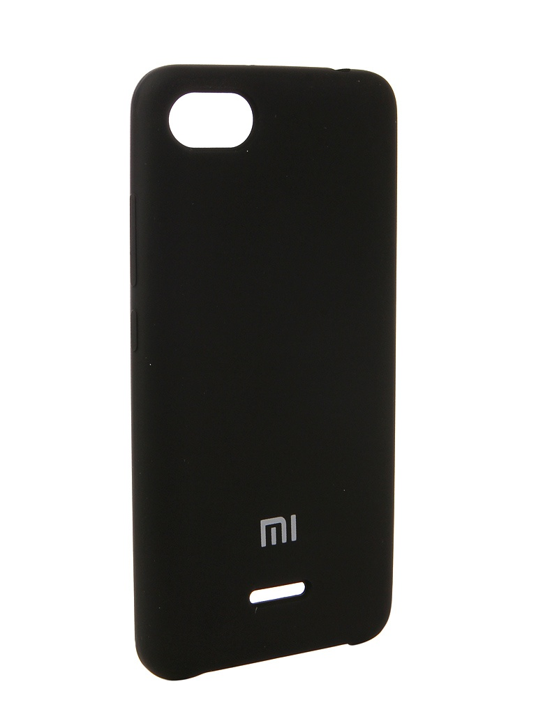 Фото - Аксессуар Чехол Innovation для Xiaomi Redmi 6A Silicone Black 12577 аксессуар