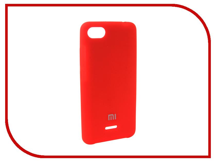 Аксессуар Чехол для Xiaomi Redmi 6A Innovation Silicone Red 12579 lowell настенные часы lowell 05472 коллекция часы картины