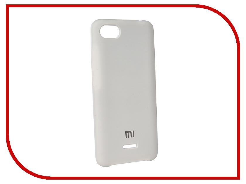 Аксессуар Чехол для Xiaomi Redmi 6A Innovation Silicone White 12576
