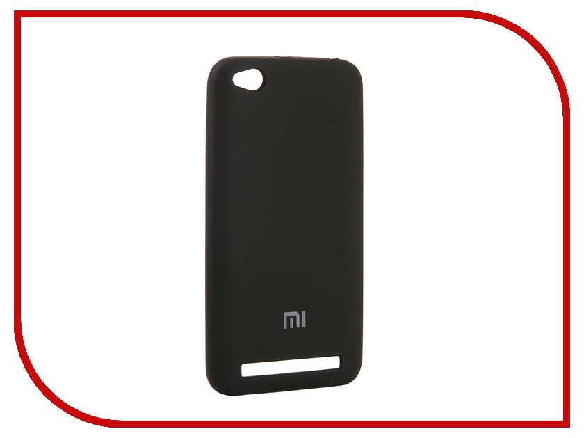Аксессуар Чехол для Xiaomi Redmi 5A Innovation Silicone Black 12597 аксессуар чехол для xiaomi redmi 5a innovation transparent 13153
