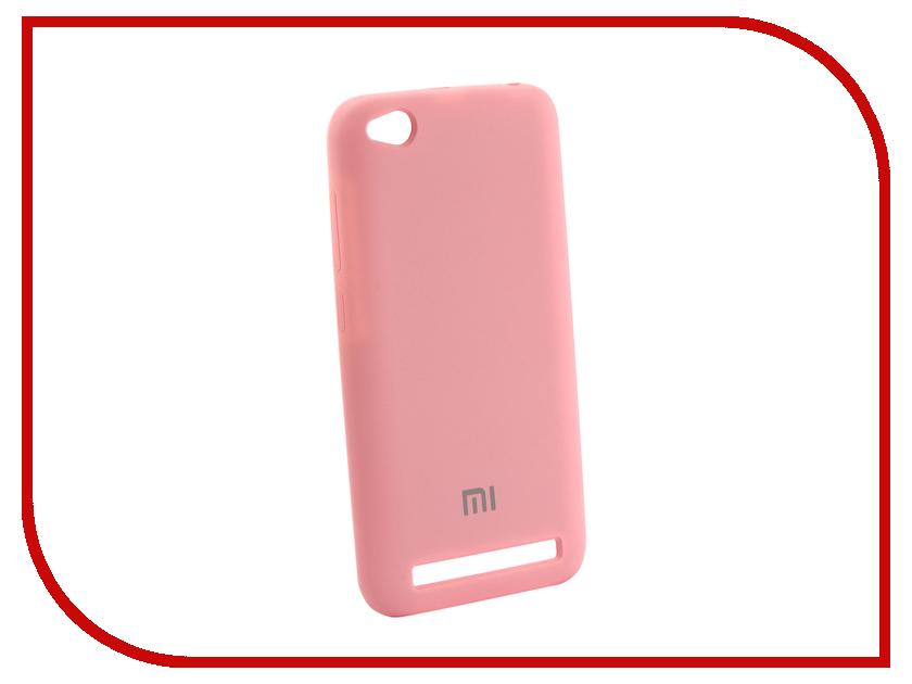 Аксессуар Чехол для Xiaomi Redmi 5A Innovation Silicone Pink 12600 аксессуар чехол для xiaomi redmi 5a innovation transparent 13153