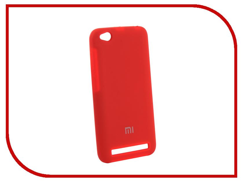 Аксессуар Чехол для Xiaomi Redmi 5A Innovation Silicone Red 12599 чехол книжка red line book type для xiaomi redmi 5 black