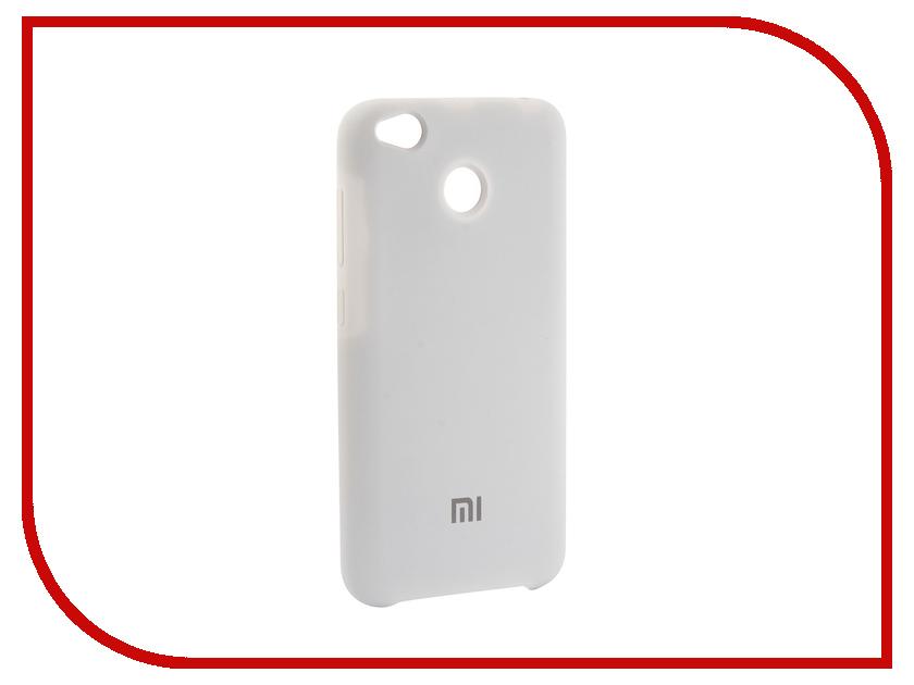 Аксессуар Чехол для Xiaomi Redmi 4X Innovation Silicone White 12601 аксессуар чехол для xiaomi 4x ipapai животные единорог 120507 x4x