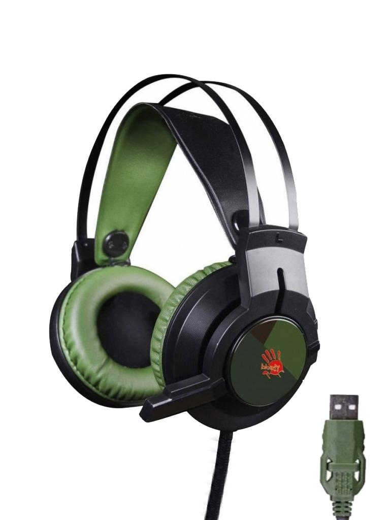 A4Tech Bloody J450 Black-Green