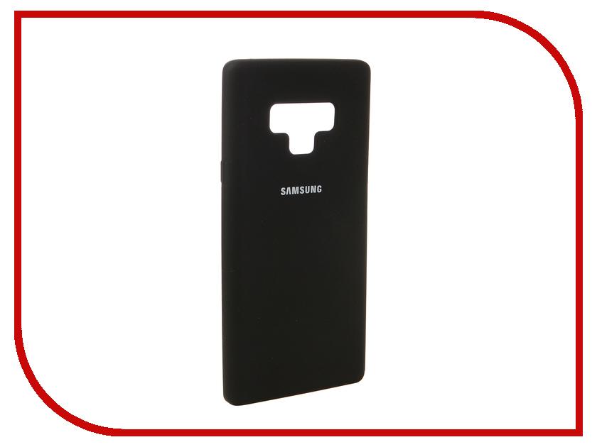 Аксессуар Чехол для Samsung Galaxy Note 9 Innovation Silicone Black 12644 аксессуар чехол samsung j3 2017 j330f zibelino clear view black zcv sam j330 blk