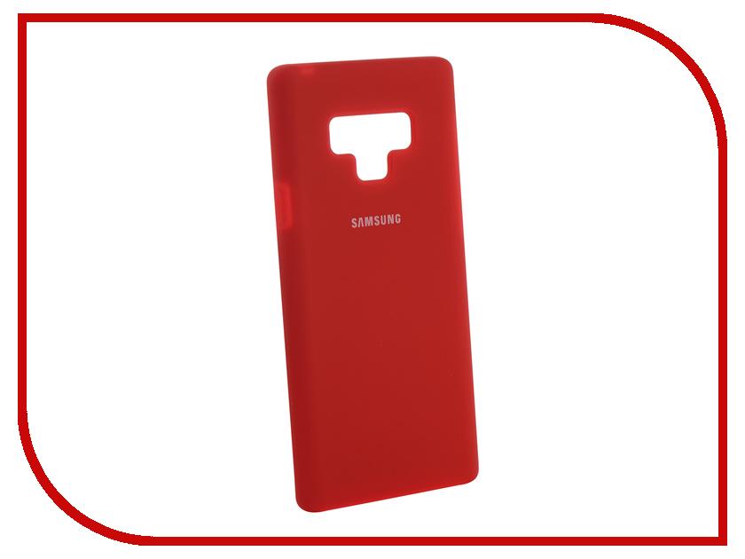 Аксессуар Чехол для Samsung Galaxy Note 9 Innovation Silicone Red 12646 аксессуар чехол для samsung galaxy note 8 innovation silicone blue 10706