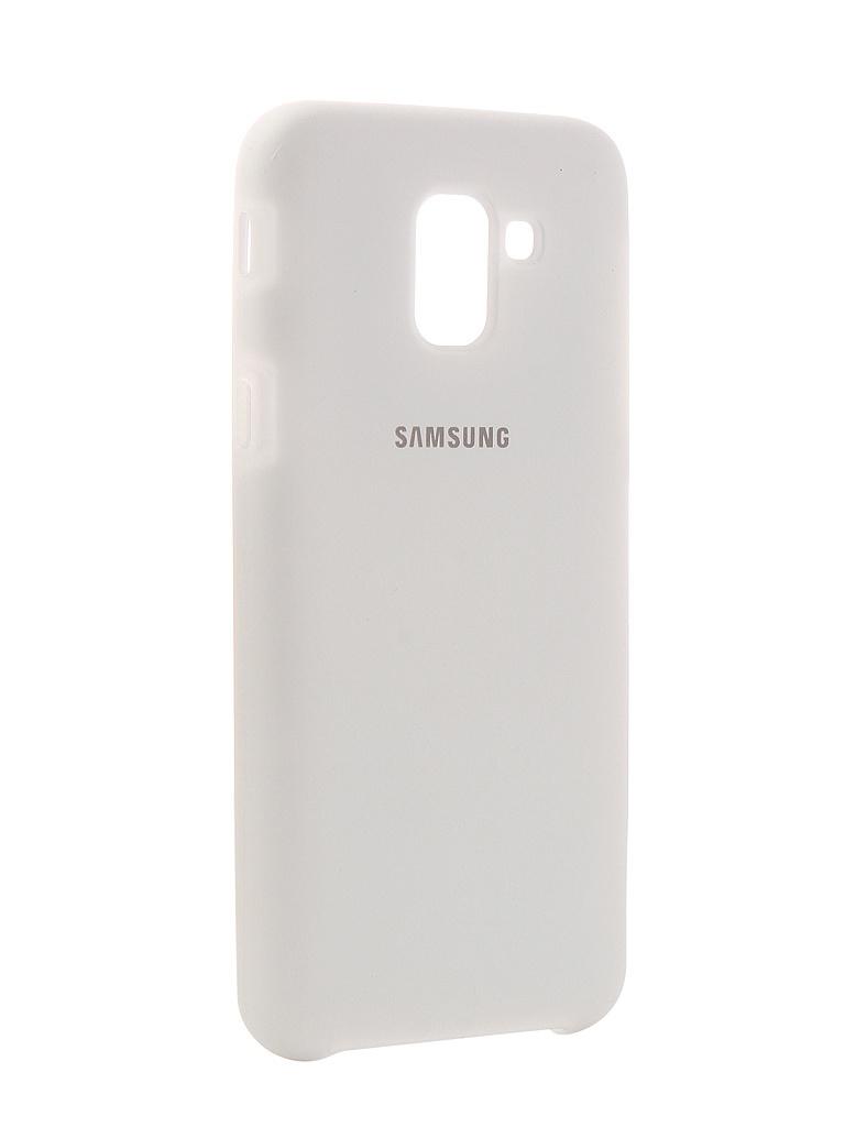 Чехол Innovation для Samsung Galaxy J6 2018 Silicone White 12638