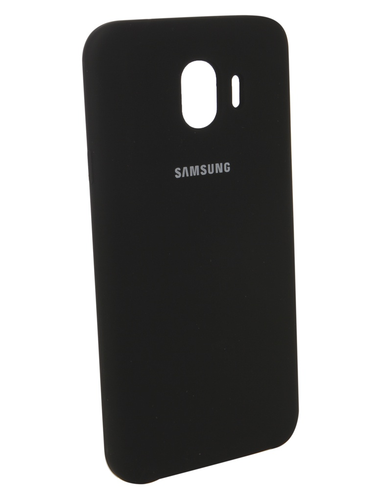 Аксессуар Чехол Innovation для Samsung Galaxy J4 2018 Silicone Black 12634 аксессуар чехол книга для samsung galaxy j4 2018 innovation book silicone black 12458