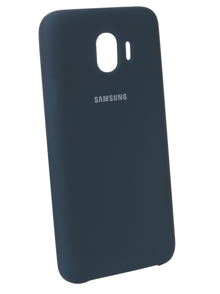 Аксессуар Чехол Innovation для Samsung Galaxy J4 2018 Silicone Blue 12635
