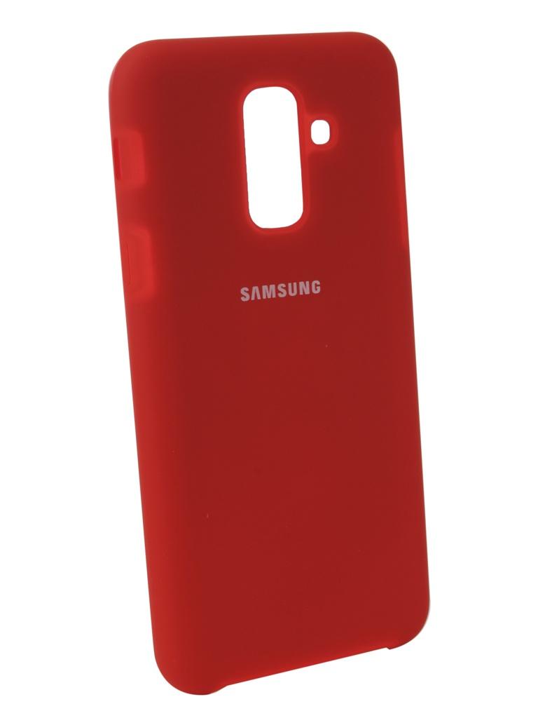 Аксессуар Чехол Innovation для Samsung Galaxy A6 Plus 2018 Silicone Red 12631 аксессуар чехол innovation для samsung galaxy a6 plus 2018 silicone blue 12630