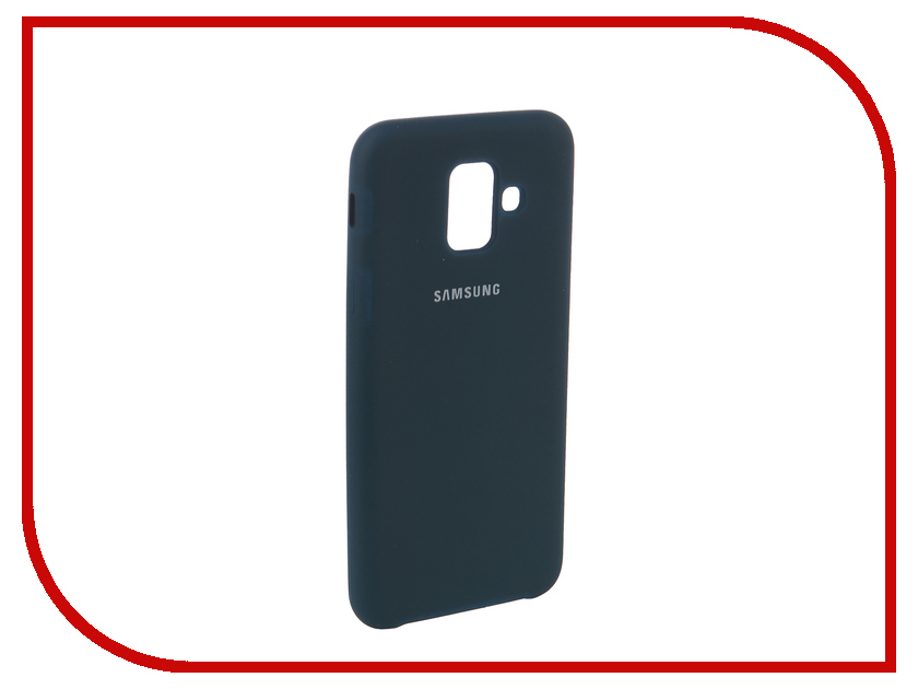 Аксессуар Чехол для Samsung Galaxy A6 2018 Innovation Silicone Blue 12625 аксессуар чехол для samsung galaxy a3 2017 innovation ракушка silicone blue 11062