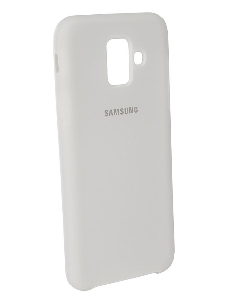 Аксессуар Чехол Innovation для Samsung Galaxy A6 2018 Silicone White 12623 аксессуар чехол innovation для samsung galaxy a6 plus 2018 silicone blue 12630