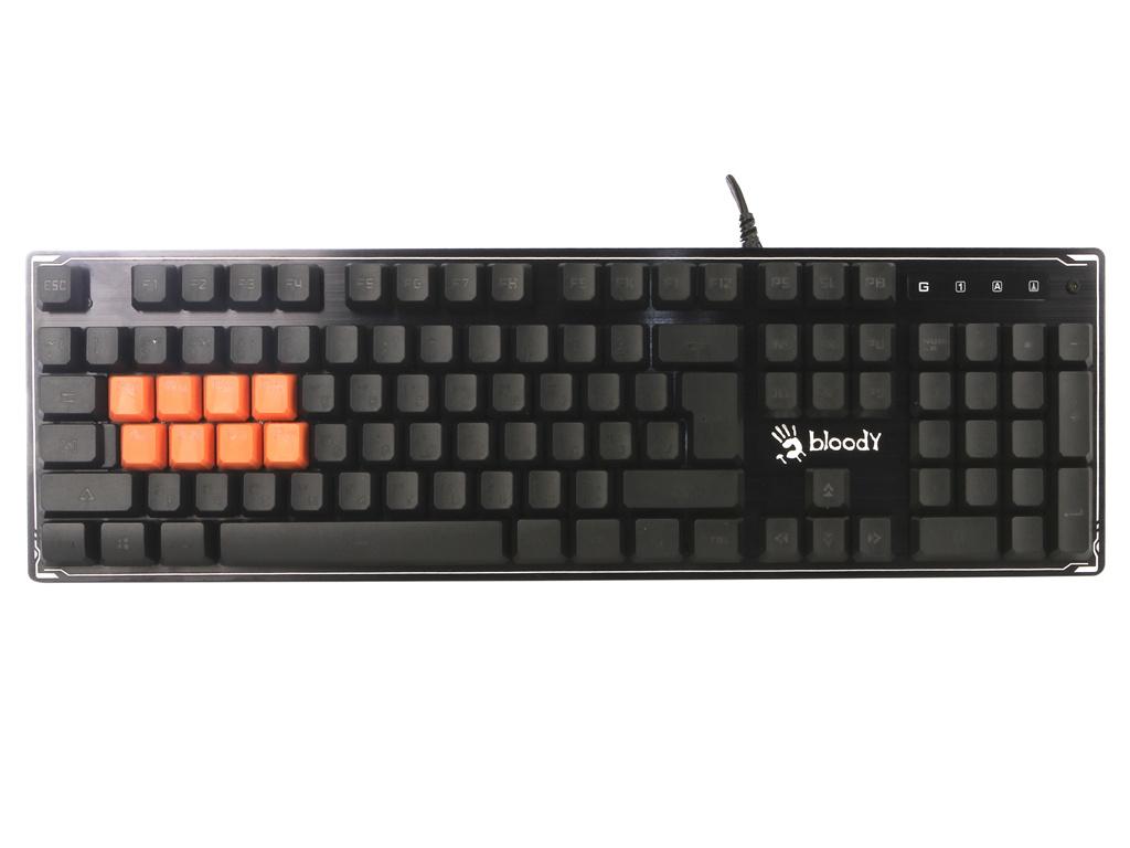 Клавиатура A4Tech B3370R Black USB