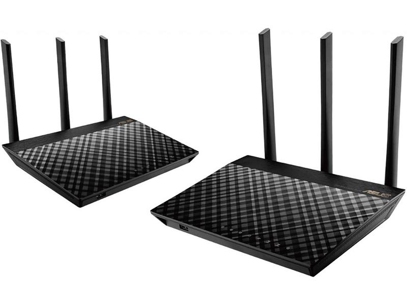 Wi-Fi роутер ASUS AiMesh AC1900 RT-AC67U (2 pack)
