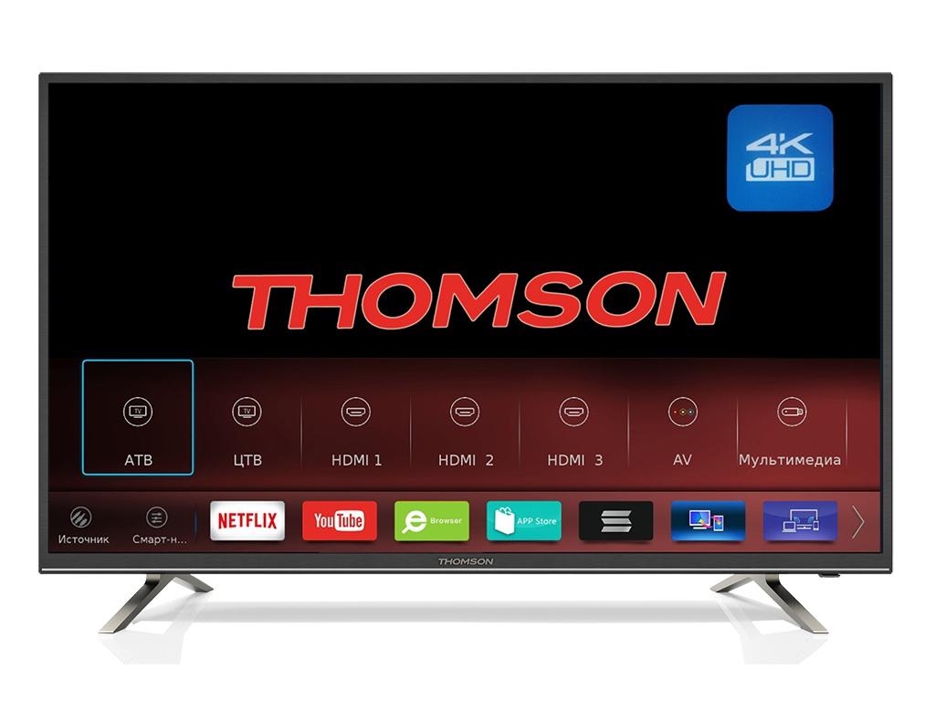 Телевизор Thomson T55USM5200 телевизор thomson t55usl5210