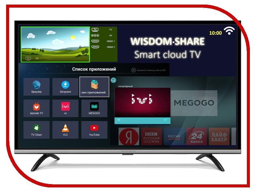 Телевизор Thomson T55FSL5140 телевизор thomson t43d19sfs