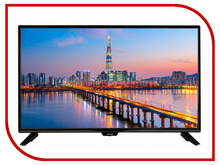 Телевизор Hyundai H-LED32R405BS2 телевизор hyundai h led49f401bs2