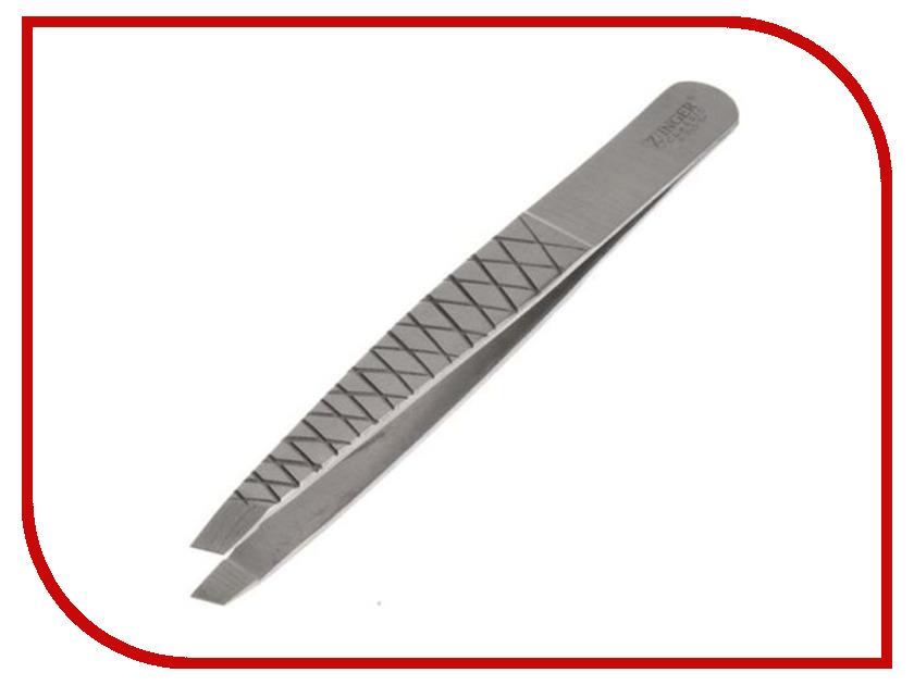 Пинцет Zinger B255-S-SH аксессуар маникюрные ножницы zinger 1312 pb sh salon zp
