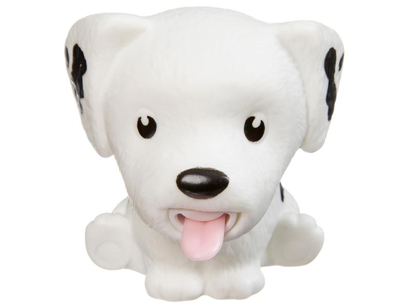 Игрушка антистресс Bondibon Чудики, Покажи язык собака White ВВ3243