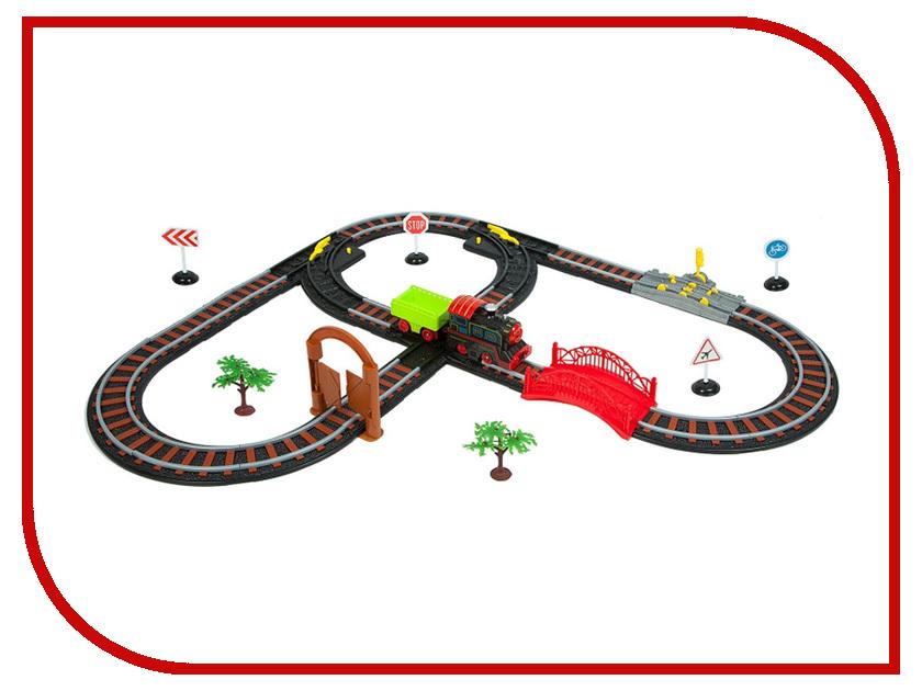 Игрушка Bondibon Восточный экспресс с одним паровозом и вагоном, воротами ВВ2998 метрика с паровозом