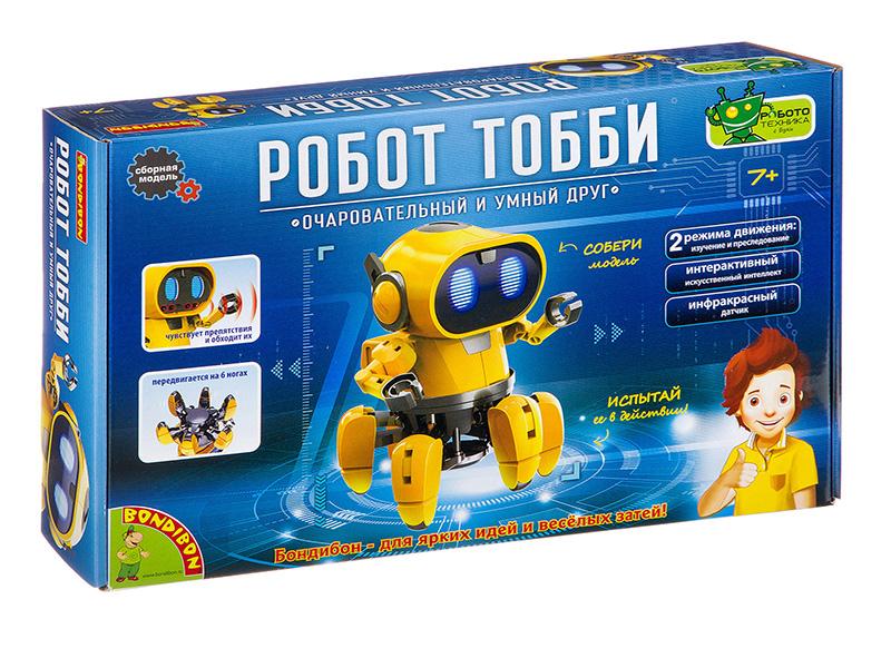 Игра Bondibon Французские опыты Науки с Буки Робот Тобби ВВ3062