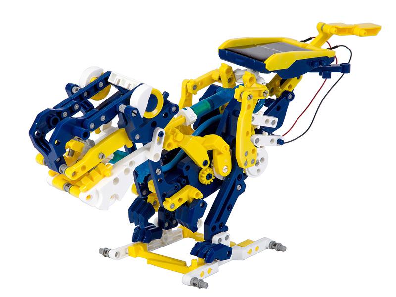 Игра Bondibon Французские опыты Науки с Буки Гидравлический робот 12 в 1 ВВ3061