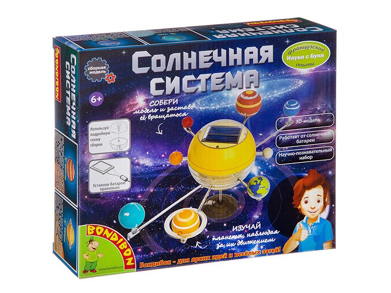 Игра Bondibon Французские опыты Науки с Буки Солнечная система ВВ3059 все цены