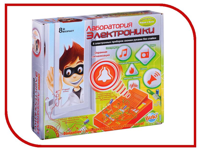 Игра Bondibon Французские опыты Науки с Буки Лаборатория электроники ВВ2881 игра ranok creative лаборатория экспертной службы 12114069р