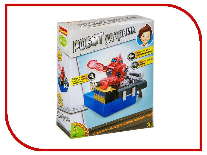 Игра Bondibon Французские опыты Науки с Буки Робот ударник ВВ2877 bondibon bondibon логическая игра антивирус