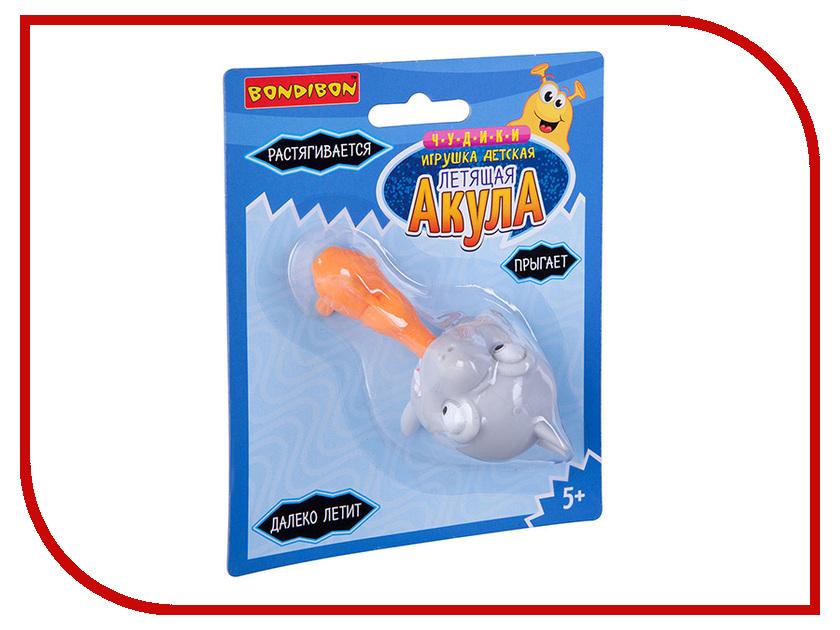 Фото - Игрушка Bondibon Чудики Летящая акула Grey ВВ3041 игрушка антистресс bondibon чудики мякиш рыба еж вв3035
