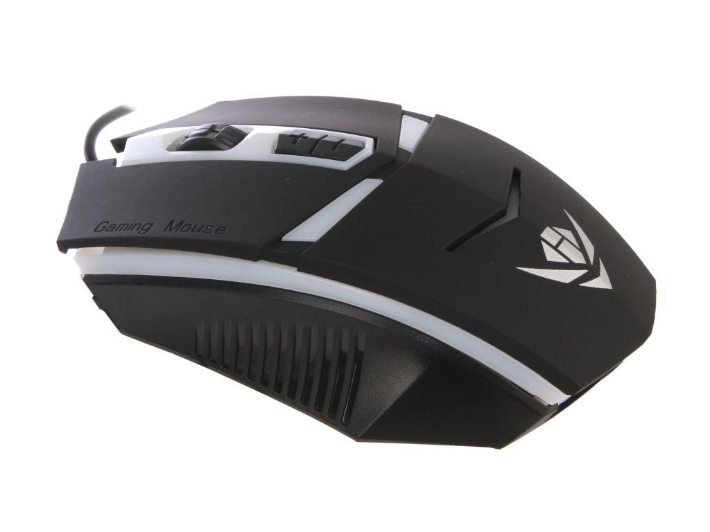 Мышь Nakatomi MOG-02U Black USB
