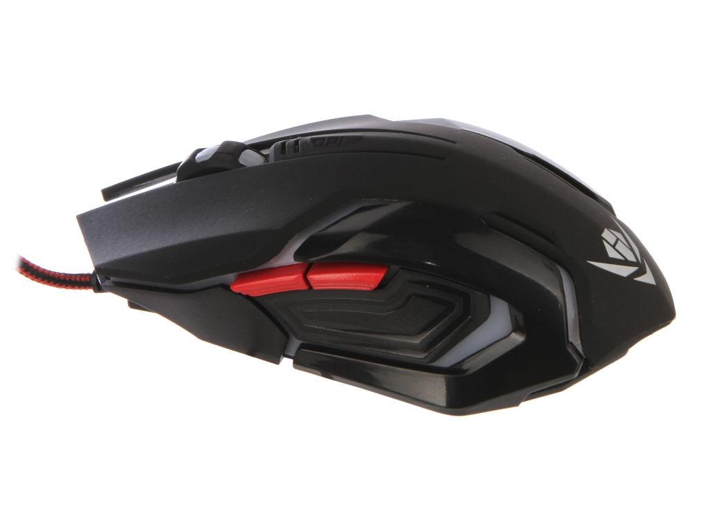 Мышь Nakatomi MOG-20U Black USB