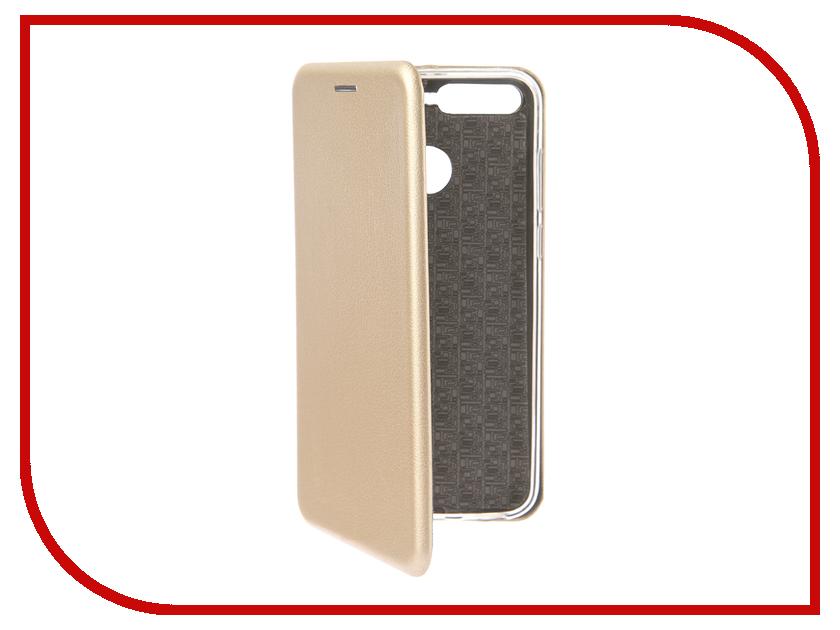 Аксессуар Чехол для Huawei Honor 7A Pro Smarterra ShellCase Gold SC18HH7APGD аксессуар чехол huawei honor 7 aksberry gold