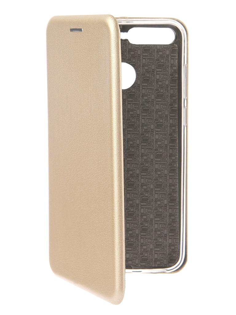 лучшая цена Аксессуар Чехол Smarterra для Honor 7A Pro ShellCase Gold SC18HH7APGD