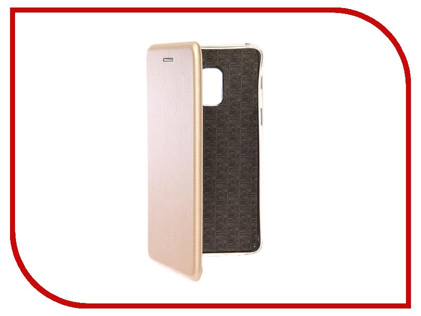Аксессуар Чехол для Samsung Galaxy A8 2018 Smarterra ShellCase Gold SC18SGA818GD аксессуар чехол samsung j3 2017 j330f zibelino clear view black zcv sam j330 blk