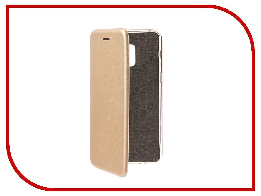 Аксессуар Чехол для Samsung Galaxy A8 Plus 2018 Smarterra ShellCase Gold SC18SGA8P18GD аксессуар чехол samsung gt i9300 galaxy s iii pulsar shellcase black psc0051