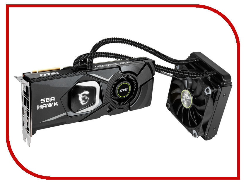 Видеокарта MSI GeForce RTX 2080 Sea Hawk X 1515Mhz PCI-E 3.0 8192Mb 14 Gbps 256 bit HDMI USB-C 3xDP RTX 2080 Sea Hawk X цены онлайн