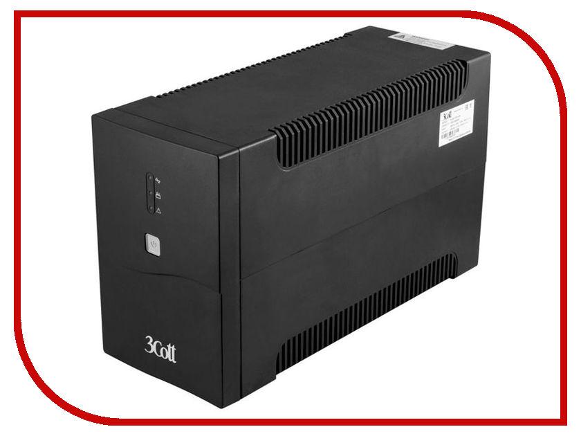 Источник бесперебойного питания 3Cott Connect Line 1500VA 900W 3Cott-1500-CNL ибп tripplite 1500va smx1500slt line interactive