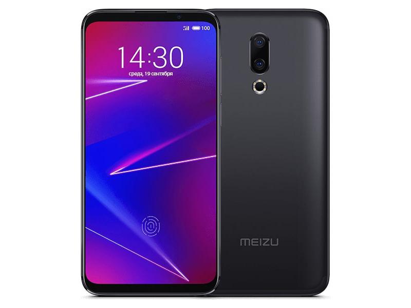 Сотовый телефон Meizu 16 6/64GB Ink Black