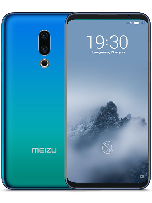 Сотовый телефон Meizu 16th 8Gb RAM 128Gb Aurora Blue сотовый телефон meizu m8 64gb blue