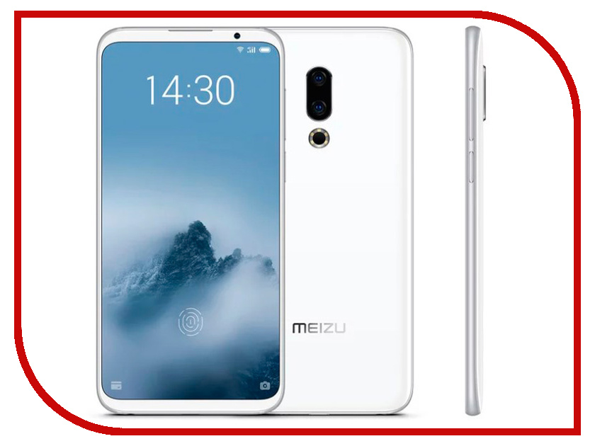 Сотовый телефон Meizu 16th 6Gb RAM 64Gb White смартфон meizu pro7 plus 64gb 6gb black m793h