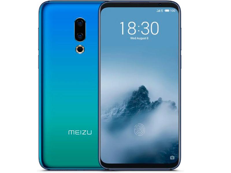 Сотовый телефон Meizu 16th 6Gb RAM 64Gb Aurora Blue сотовый телефон meizu m8 64gb gold
