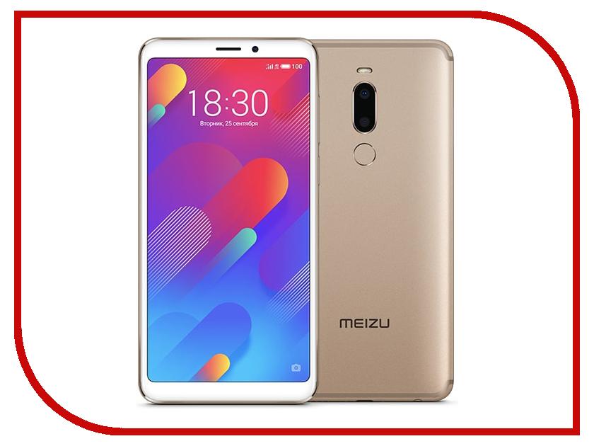 Сотовый телефон Meizu M8 64Gb Gold телефон meizu pro 5 64gb серебристо черный