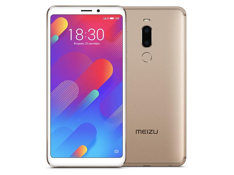 Сотовый телефон Meizu M8 64Gb Gold сотовый телефон meizu 15 lite 32gb gold