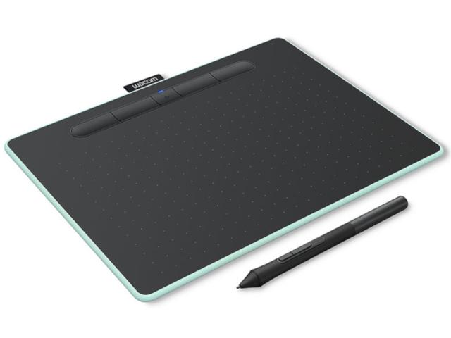 Графический планшет Wacom Intuos M Bluetooth Pistachio CTL-6100WLE-N Выгодный набор + серт. 200Р!!!