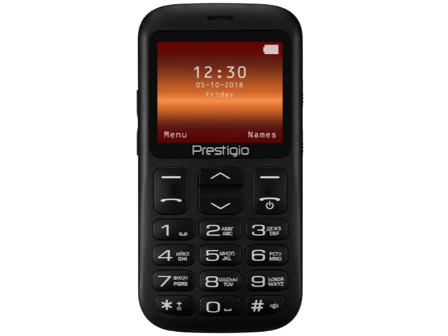 Сотовый телефон Prestigio Muze L1 Black PFP1220DUO цена и фото