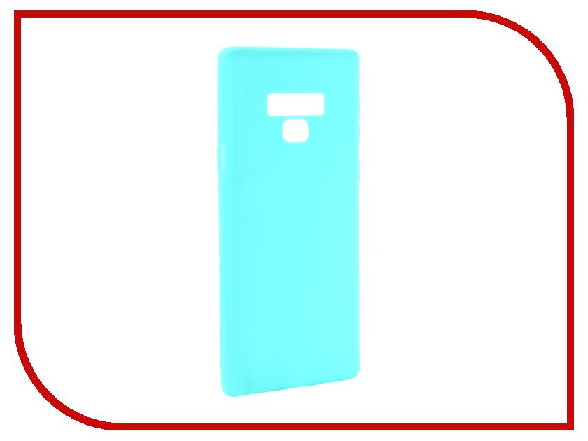 Аксессуар Чехол для Samsung Galaxy Note 9 Zibelino Soft Matte Turquoise ZSM-SAM-NOT9-TQS