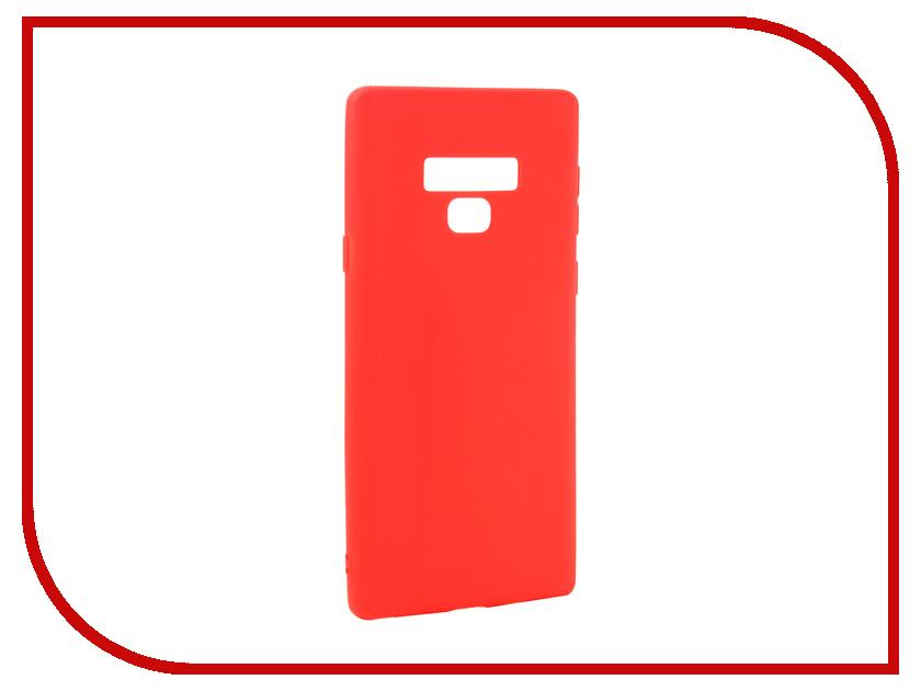 Аксессуар Чехол для Samsung Galaxy Note 9 Zibelino Soft Matte Red ZSM-SAM-NOT9-RED аксессуар чехол nokia 7 plus zibelino soft matte red zsm nok 7 pls red