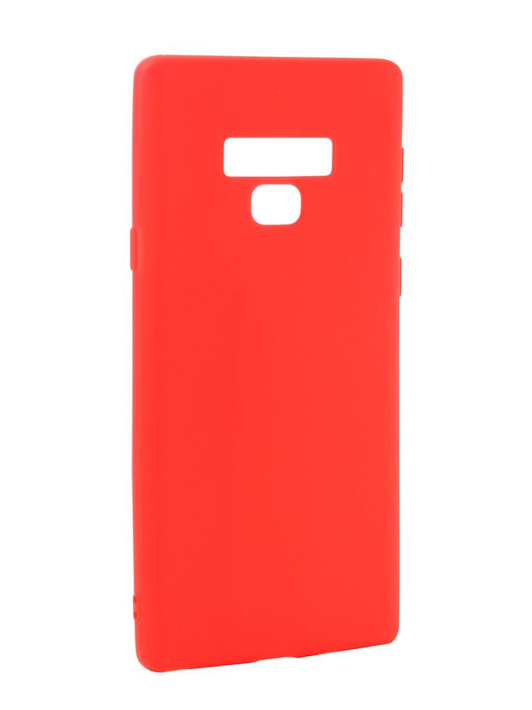 Аксессуар Чехол Zibelino для Samsung Galaxy Note 9 Soft Matte Red ZSM-SAM-NOT9-RED стоимость