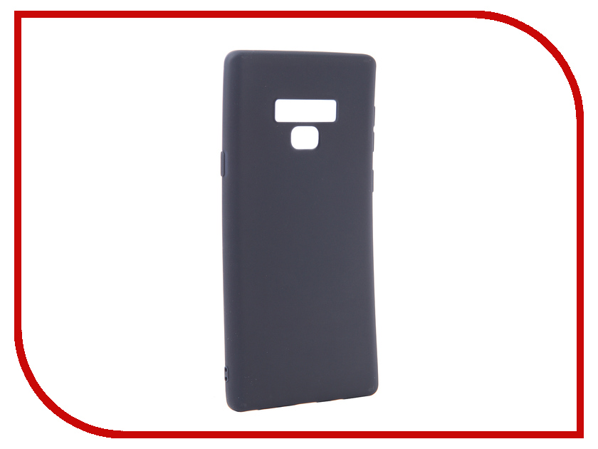 Аксессуар Чехол для Samsung Galaxy Note 9 Zibelino Soft Matte Dark Blue ZSM-SAM-NOT9-DBLU аксессуар чехол samsung galaxy s6 edge gecko blue gg f sgs6edge dblu